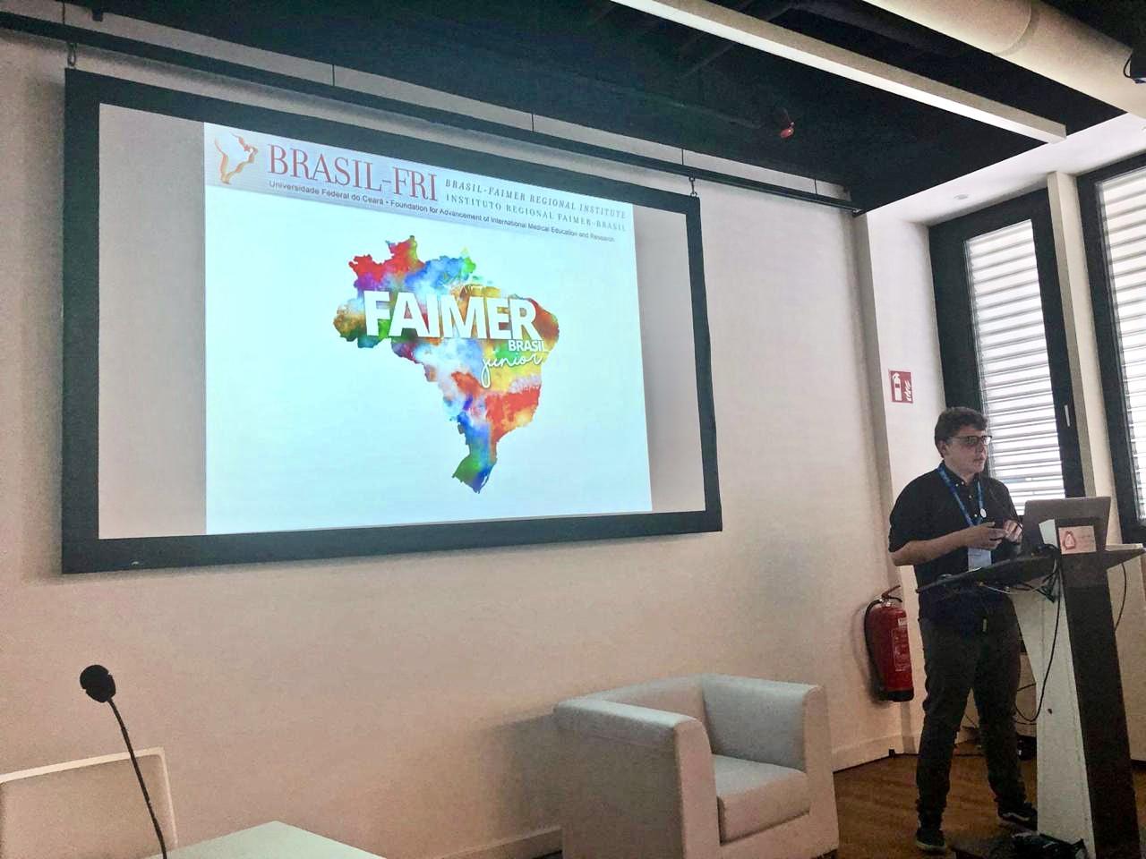 Ugo Caramori apresenta trabalho na AMEE 2019